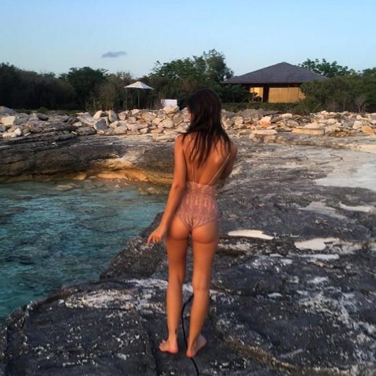Emily Ratajkowski Birthday Swimsuit Instagram 2016