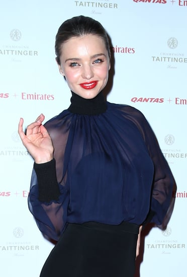 Pictures of Miranda Kerr at the Qantas Gala Dinner