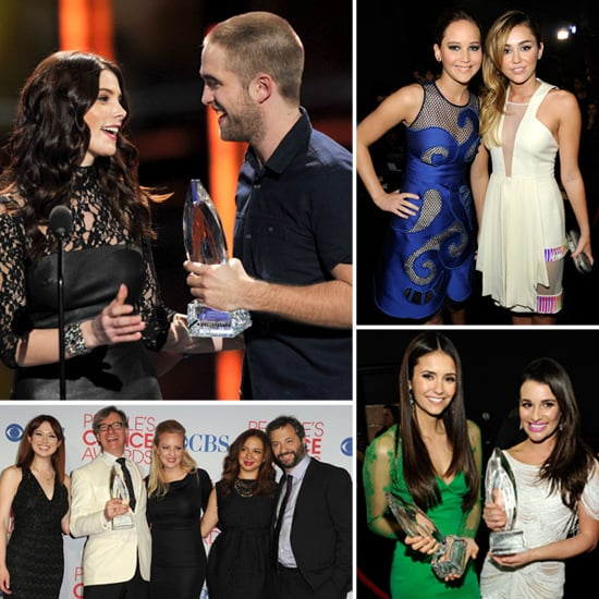 Robert Pattinson and 2012 People's Choice Awards Pictures