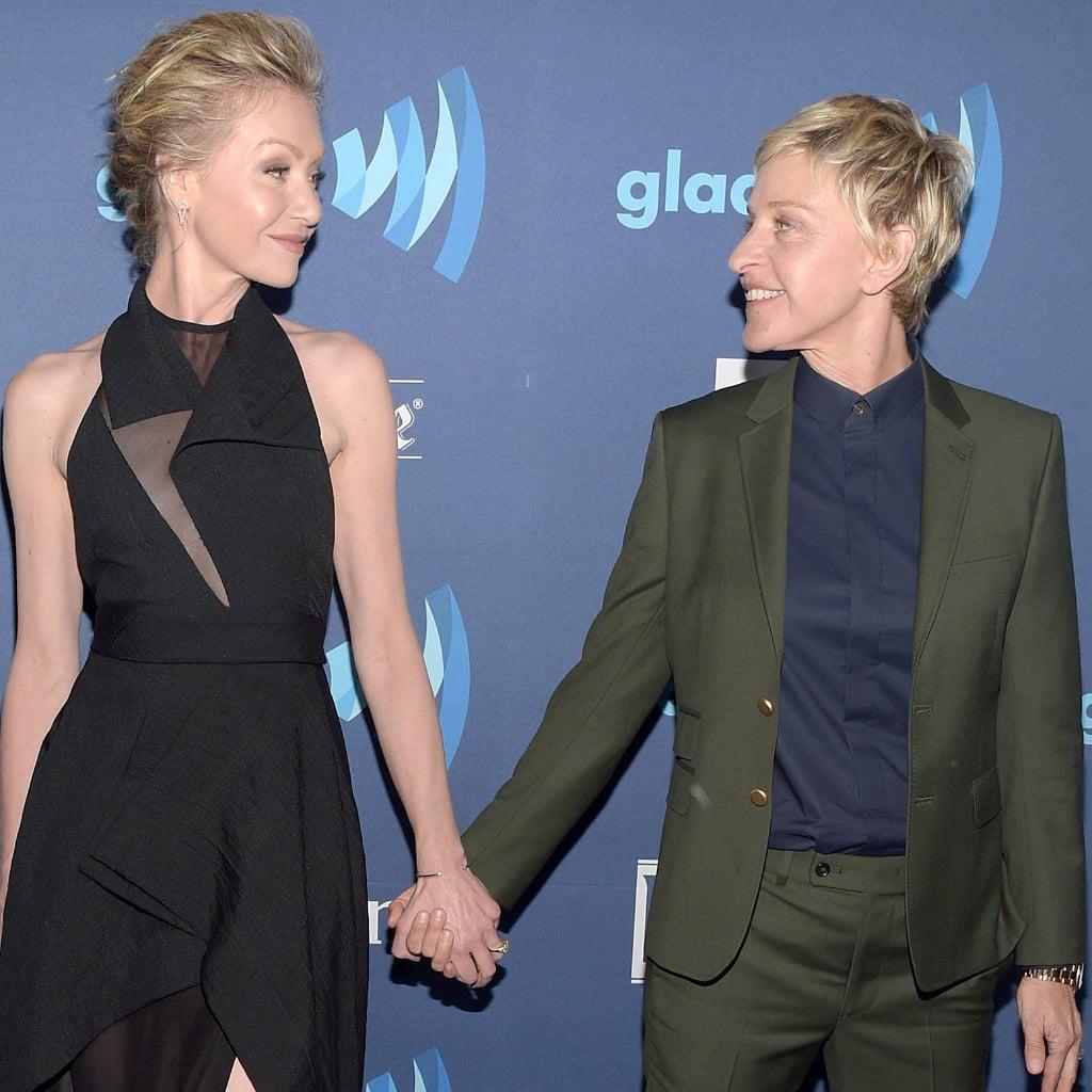 Portia De Rossi Pregnancy: Cute Portia De Rossi And Ellen DeGeneres Pictures