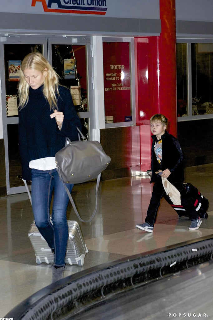 Gwyneth and Chris Bring the Kids to NYC For New Year's With Jay-Z