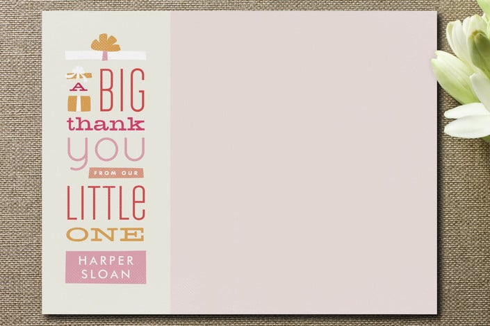 Gifted Thanks Stationery