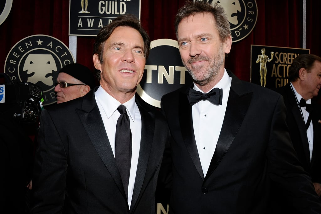 Dennis Quaid and Hugh Jackman