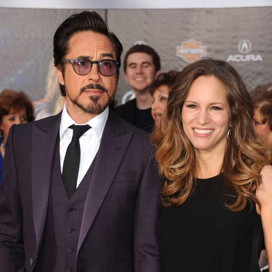 Robert Downey Jr & Wife Susan Pictures The Avengers Premiere