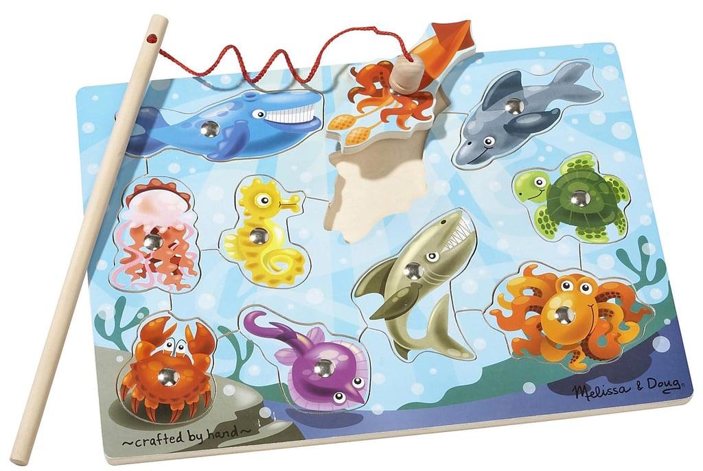 For 2-Year-Olds: Melissa & Doug Fishing Pole Puzzle