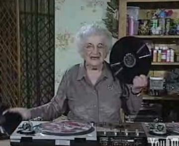 Hipster Granny Makes a Mash-up