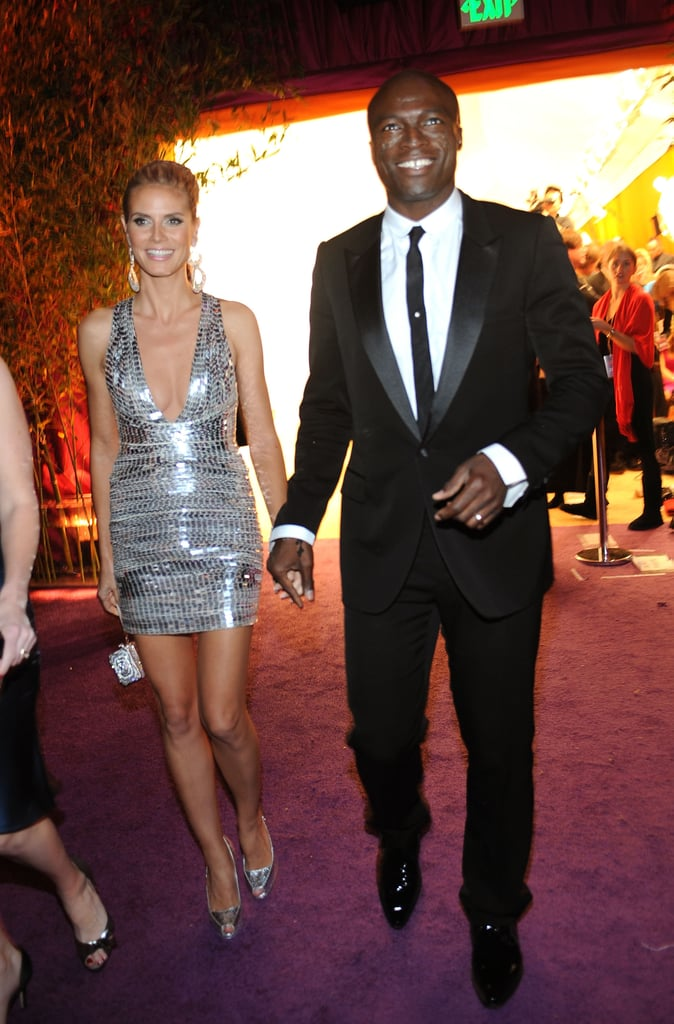 Heidi Klum and Seal attended the 16th Annual Elton John AIDS Foundation Oscar Party in February 2008.