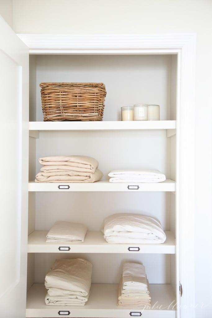 How To Organize A Linen Closet Popsugar Home