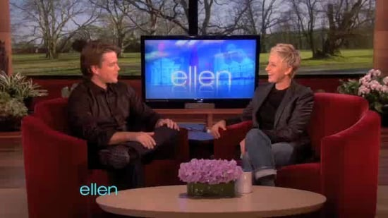 Video of Matt Damon on Ellen Talking Babies, George Clooney, Falling in Love 2011-03-01 22:33:00