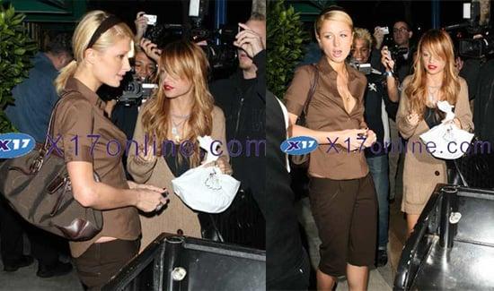 Nicole and Paris Are BFFs Again