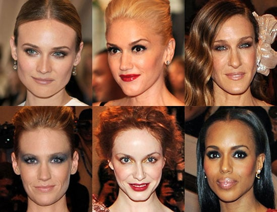 Pictures of Hair and Makeup at the 2010 Costume Institute Gala