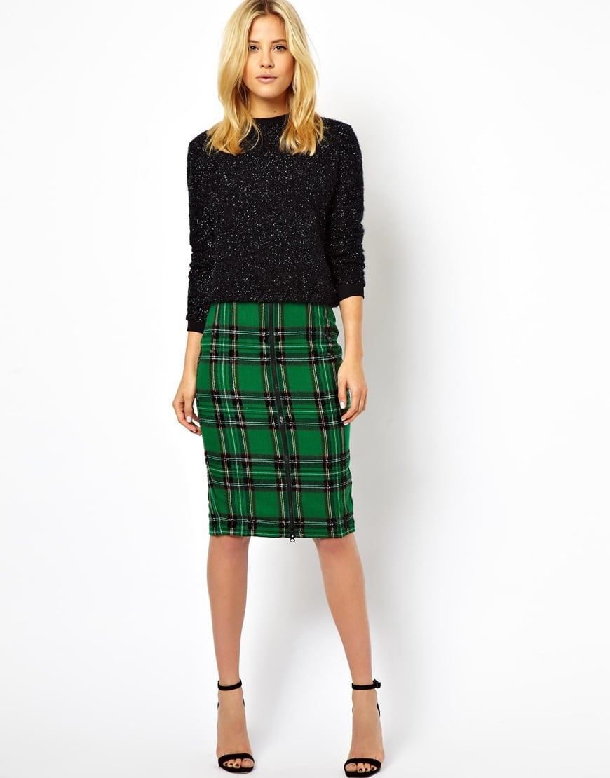 ASOS Plaid Skirt