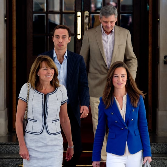 Pippa James Carole Michael Middleton After Royal Wedding Pictures