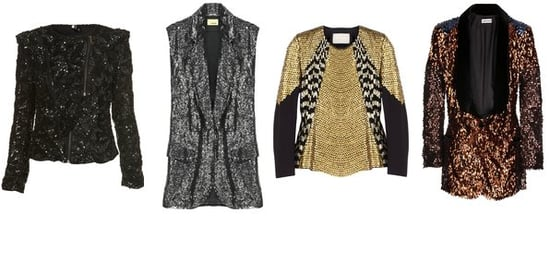 Shopping: Sequin Toppers for an Alternative Evening Look