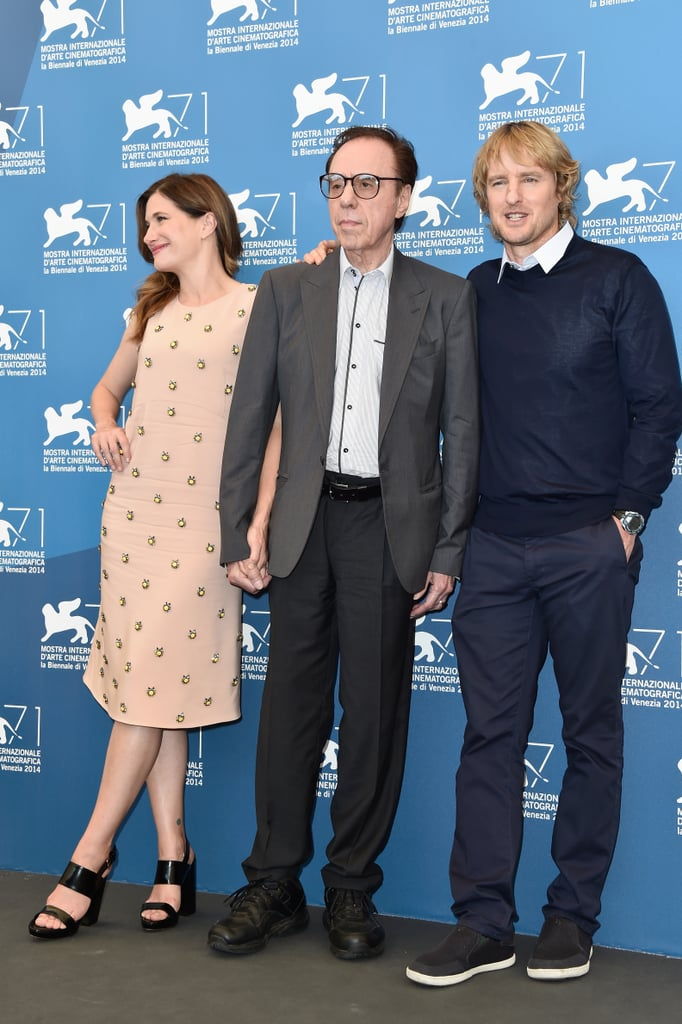 Owen Wilson and Kathryn Hahn got together with director Peter Bogdanovich to promote She's Funny That Way.