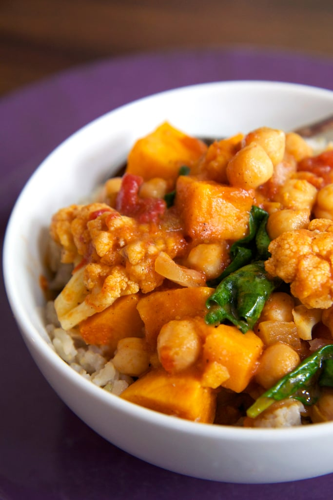 Slow-Cooker Chickpea Curry