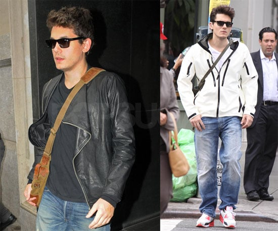 Photos of John Mayer After a Workout in NYC