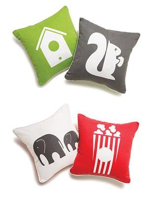 Ecotot: Green Boodalee Pillows