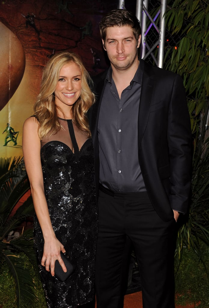 """Pregnant Kristin Cavallari and fiancé Jay Culter at the Cirque du Soleil """"OVO"""" Celebrity Opening Night Gala."""