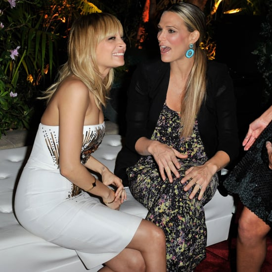Nicole Richie and Molly Sims at QVC Event Pictures
