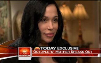 Ann Curry Interviews Mom of Octuplets
