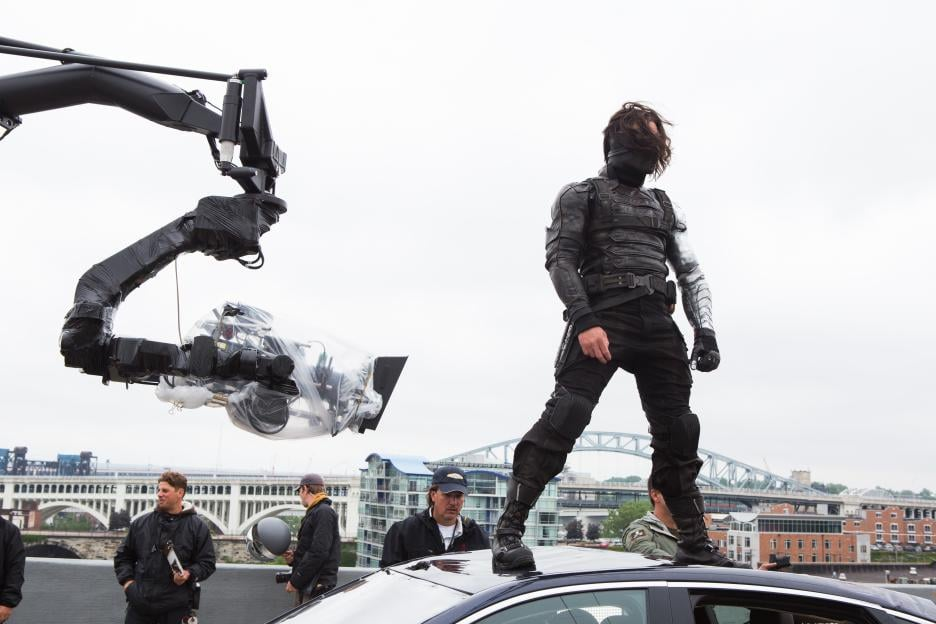 PS: What kind of effects did you use to enhance the Winter Soldier's arm?