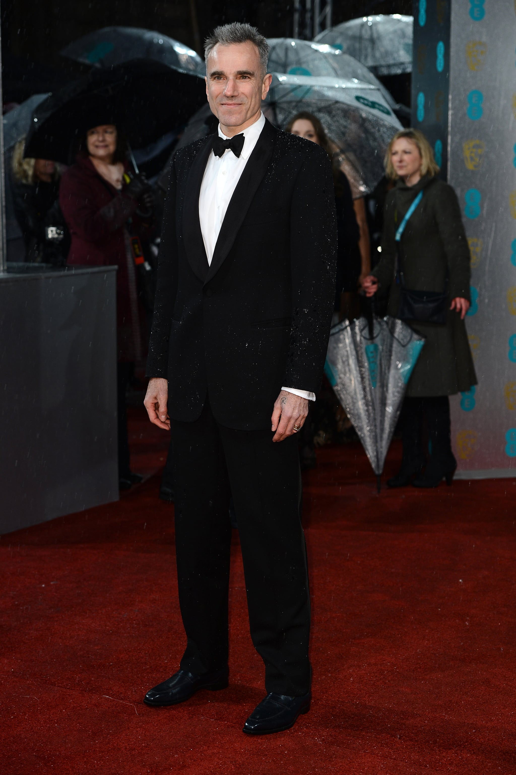 Daniel Day-Lewis stepped out for the BAFTAs.
