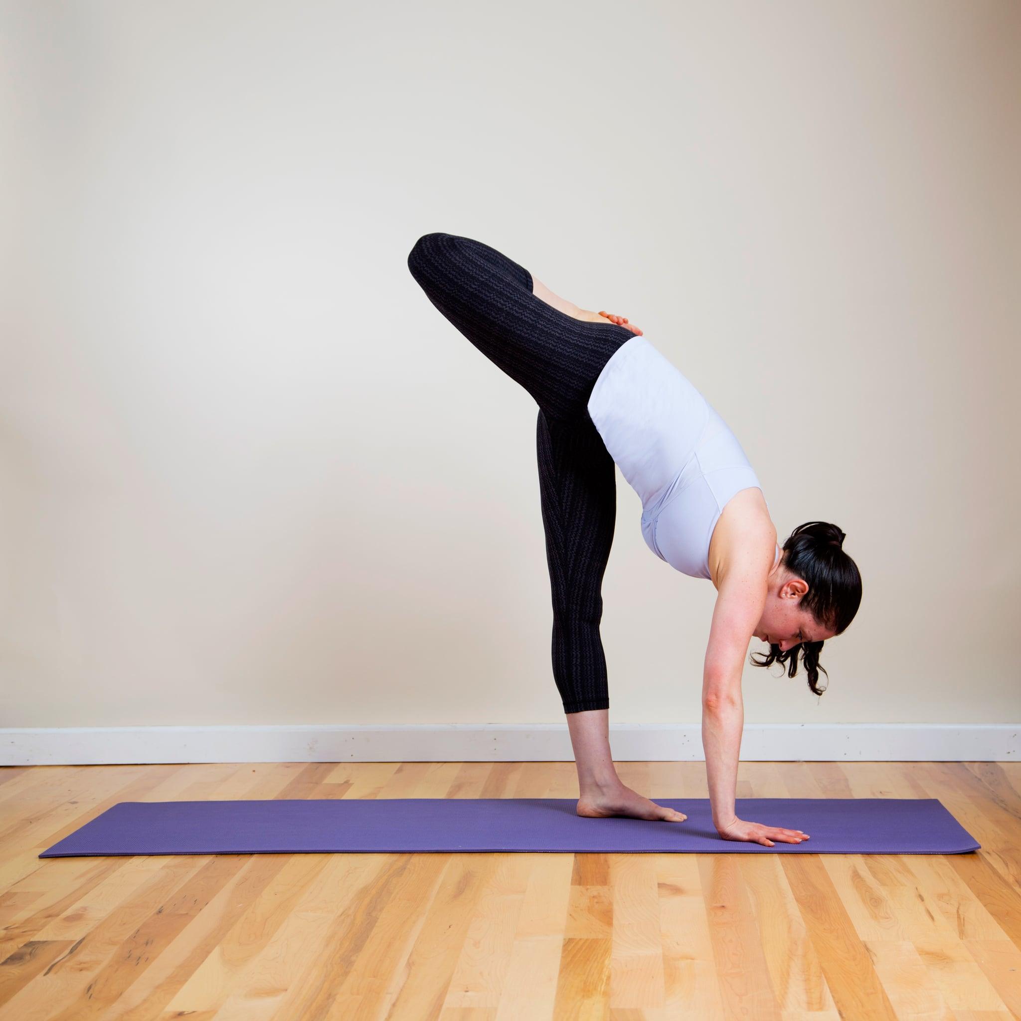 Yoga Pose 2: Bent Standing Split