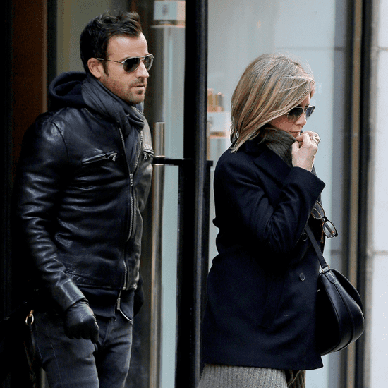 Jennifer Aniston and Justin Theroux in NYC