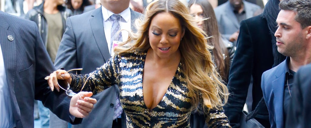 Mariah Carey Loses Her Shoe on the Red Carpet, Bounces Back Like a Boss