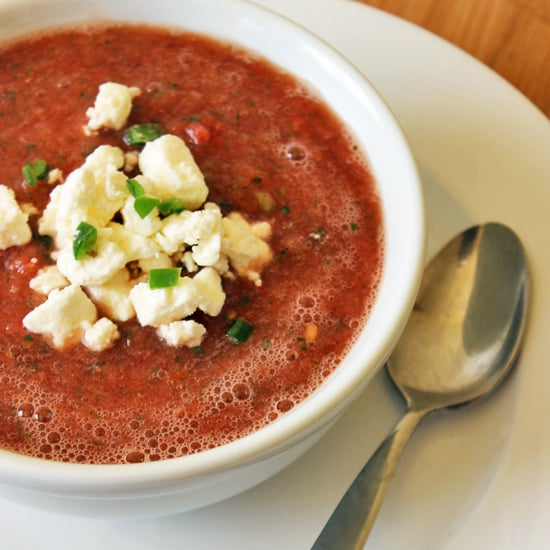 Healthy Watermelon Gazpacho Recipe