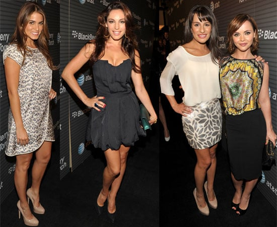 Pictures from Blackberry Torch Launch Party Including Lea Michele, Mark Salling, Kelly Brook,