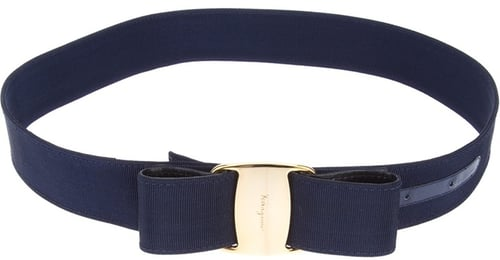 Salvatore Ferragamo Vintage bow detail belt