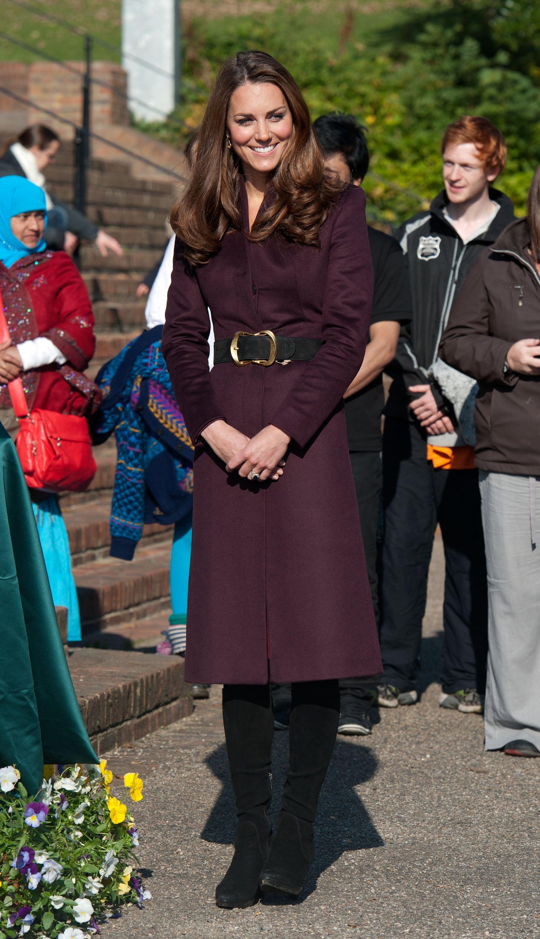 Kate Middleton at Elswick Park in 2012