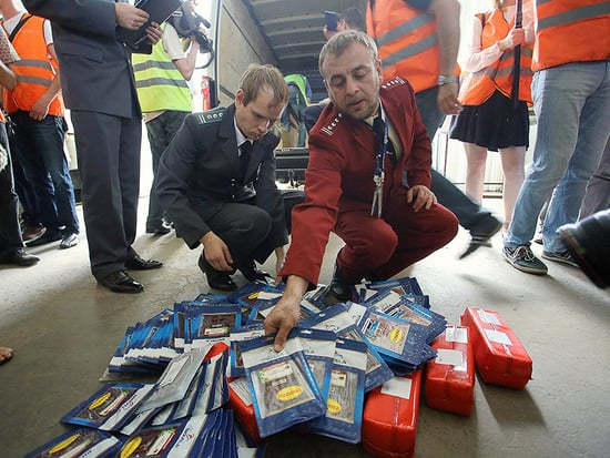 Russian Police Seize, Destroy $30M of Contraband Cheese & Cheese Accessories