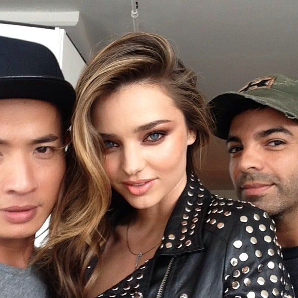 Miranda Kerr looked absolutely gorgeous on the set of a photo shoot (but what else is new?). Source: Instagram user mirandakerr