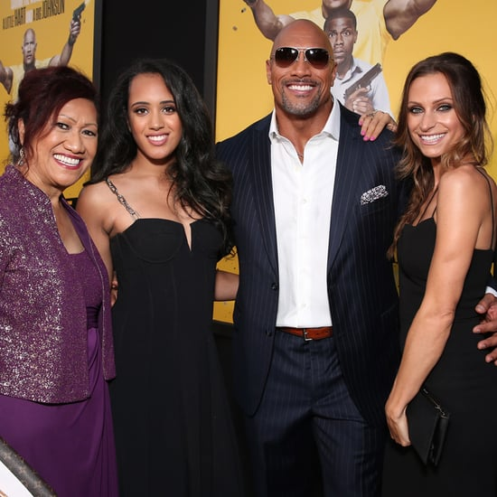Dwayne Johnson at Central Intelligence LA Premiere 2016