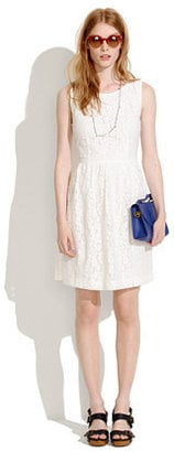 Don't let the lace fool you: this Madewell Lace Blossom Dress ($115-$135, originally $160) would look just as sweet with ankle boots in September.
