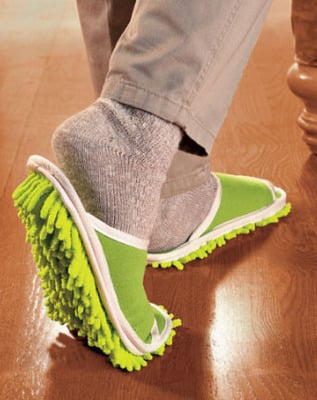 Mop Slippers? Measuring Tape Belt? Thanks... But No Thanks!