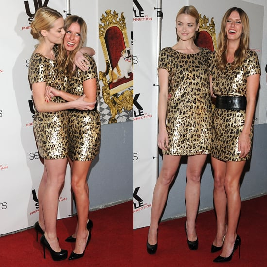 Jaime King and Nicky Hilton Wear UK Style by French Connection's $99 Cheetah Dress