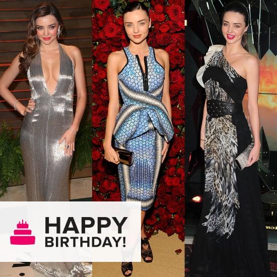 Curves Ahead: Miranda Kerr's 53 Most Stunning Dresses of All Time