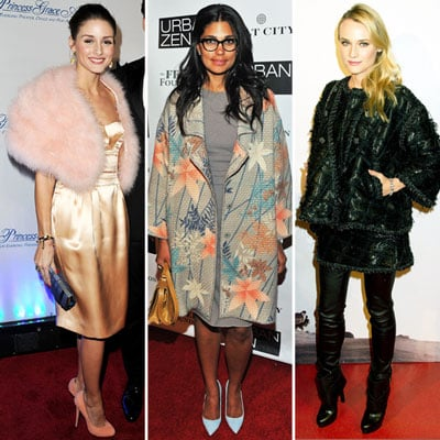 Fancy Winter Coats and Jackets on Celebrities 2011