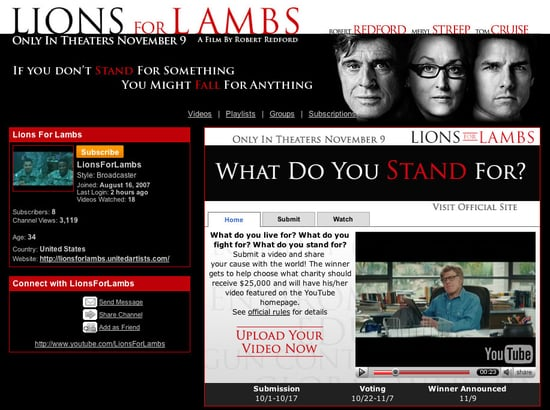 Lions for Lambs Online Competition Builds Buzz, Helps Others