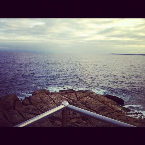 One of Alison's fave spots in her new 'hood of Bondi. Pretty, right?