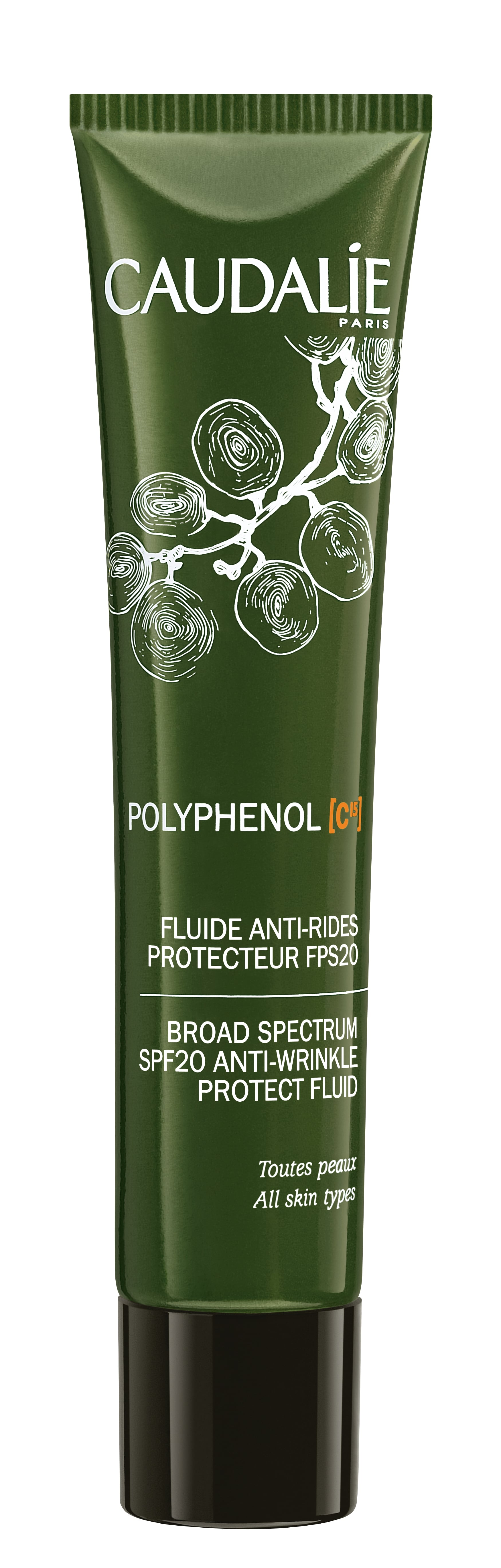 Caudalie C15 Polyphenol  Protect Fluid SPF 20