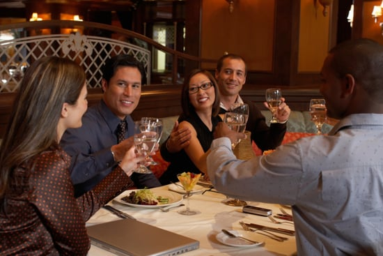 Dining Out in Large Groups at Restaurants