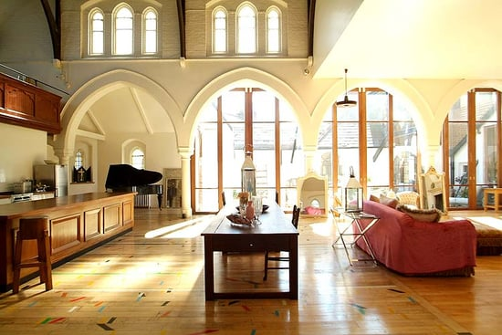 Coveted Crib: A Converted Church in London