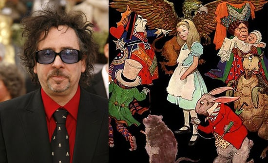 Tim Burton Signs on for 3-D Alice in Wonderland