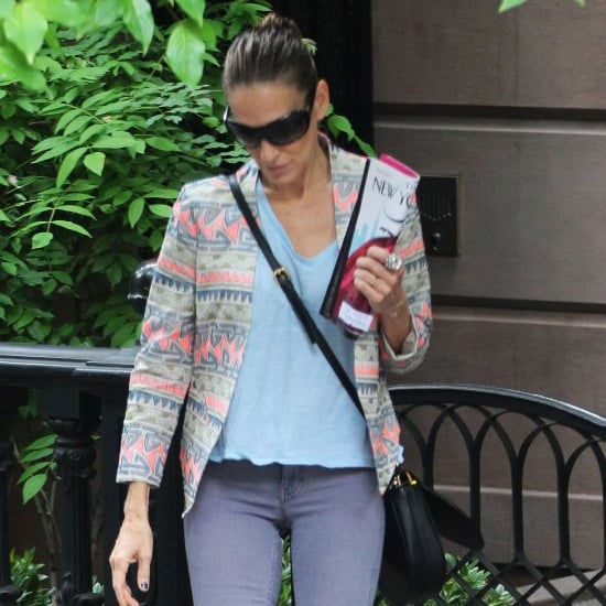 Sarah Jessica Parker in Printed Jacket