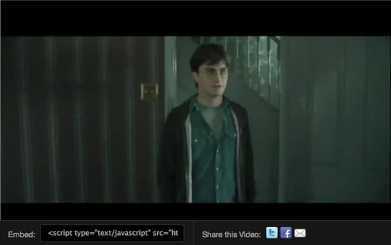 Harry Potter and The Deathly Hallows Part I Deleted Scene